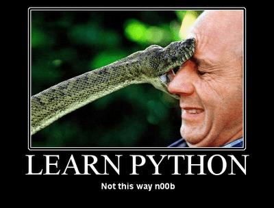 Python noob