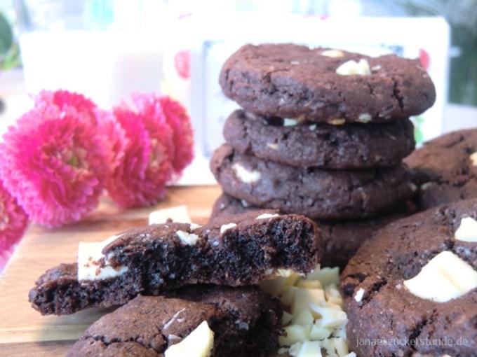 Leckere Amerikanische Brownie Cookies