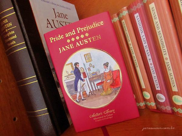 Pride and Prejudice Collector's Library | Ilustrações coloridas