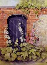 Hollyhock Door
