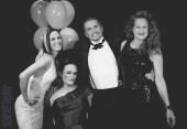 retro group shot at tgs in tiaras gala ball