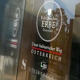 """Präsentation Charta """"Kulinarisches Österreich"""""""