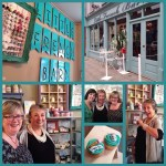 Brilliant opening of the new location of @littlefrenchbarn in Lisburn with Annie Sloan (and my jewellery)