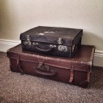Vintage suitcases have always fascinated me – delighted to have found these two