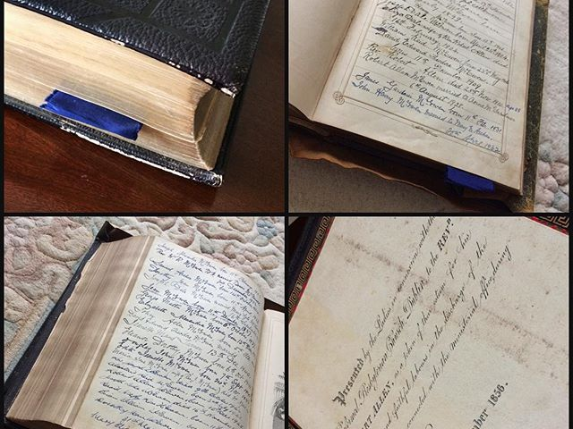 Family Bible – presented to my great great grandfather in 1856