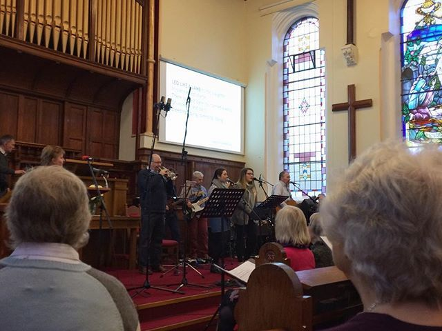 We had over 70,000 extra joining our Seymour St Methodist Lisburn morning service today as we were broadcast on BBC Radio Ulster