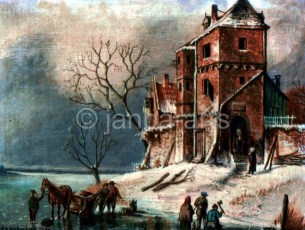 A winters tale a detail from a dutch master n.f.s