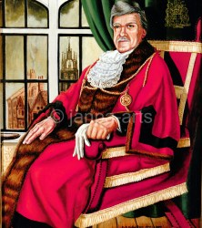 The Lord  Mayor Cecil  Arthur  Cook  1992 1993