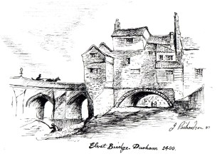 old elvit bridge durham