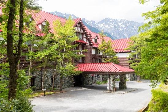 上高地帝国ホテルにて高級カレーライスランチ Luxury Curry at Imperial Hotel Kamikochi