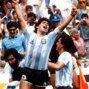 DPA Mexico Diego Maradona celebrates
