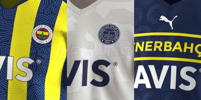 Fenerbahçe 2021-2022 Puma Yeni Formaları