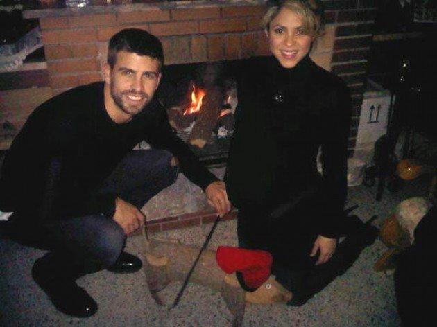 Pique, Shakira'yı yüzünden vurmuş