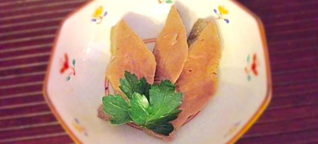 Foie au sel 塩レバー
