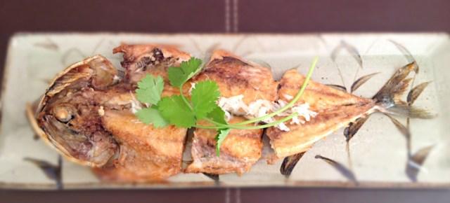 Kabayaki de maquereau サバの蒲焼き