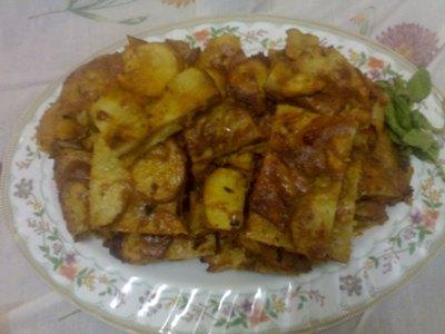 اكلة البطاطا خفيفة وسريعة بالصور