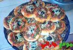 ميني بيتزا بالكفتة