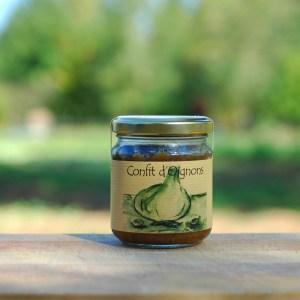 condiment bio confit d'oignons
