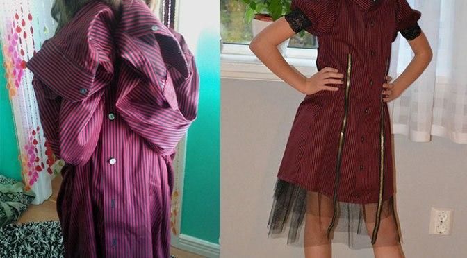 Från skjorta till klänning