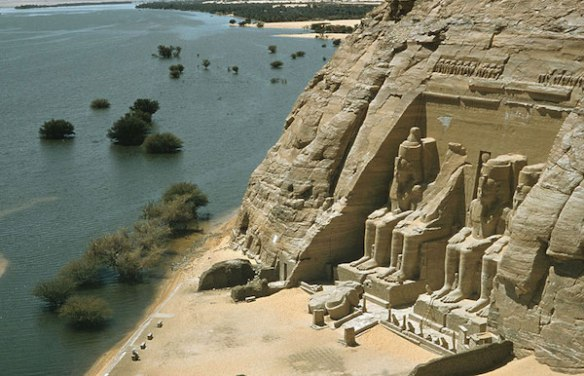 UNESCO temple relocated to Abu Simbel