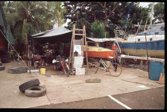 Expedition 360 expedition base camp. Darwin, Australia
