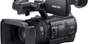 Sony PXW-Z150: Exmor RS CMOS sensor, XAVC-L 4:2:2 10-bit 50 MB/s 1080p HD 120 fps. UHD 4K at 4:2:0 8-bit 100 MB/s. 3G-SDI out, LANC, XLR inputs, dual SDXC, 12x optical zoom, 3-ring full manual lens control, street price of $3,199 USD.