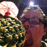 Jason with an official Disney Lapu Lapu
