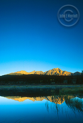Don't miss gorgeuous Pyramid Mountain on your trip to Jasper.