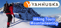 Hire the guides at Yamnuska for any kind of adventure in the Canadian Rockies and Banff National Park