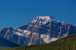 Mount Edith Cavell in Jasper National Park
