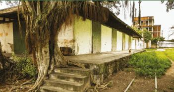 Aunque algunas estaciones han sido remodeladas, como la de Ambalema, otras se encuentran en muy malas condiciones.  FOTO: Guillermo Santos