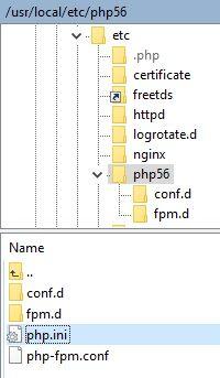 Synology Editar PHP.ini 01