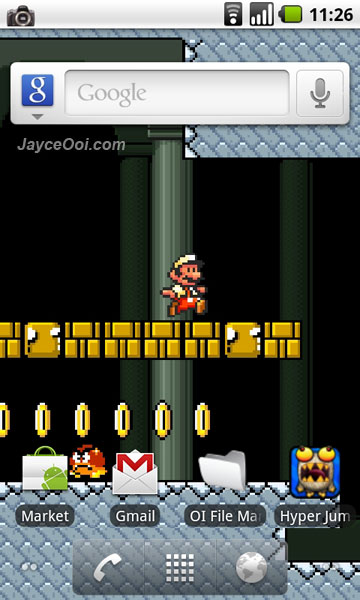Download Mario Live Wallpaper for Android - JayceOoi.com