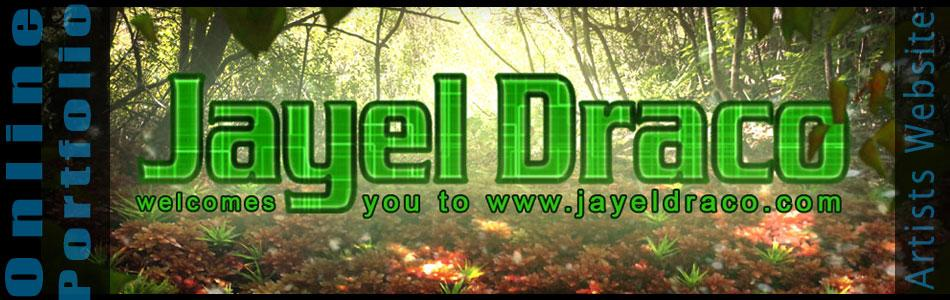 A welcome banner by Jayel Draco