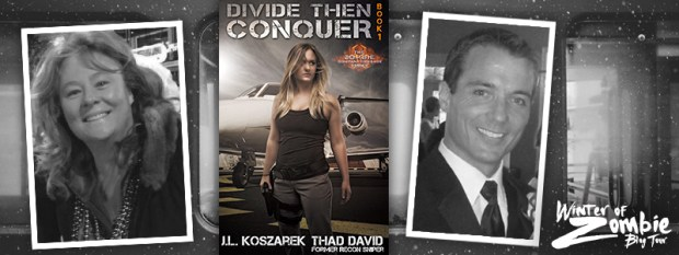Thad David & JL Koszarek | Divide Then Conquer Book 1 | Winter of Zombie 2016