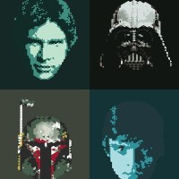 Star Wars Pixel Art Series