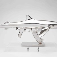 Amazing Shark Gun Sculptures by Christopher Schulz