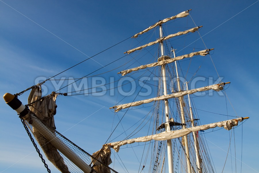 Low view Tall Ship - Jan Brons Stock Images