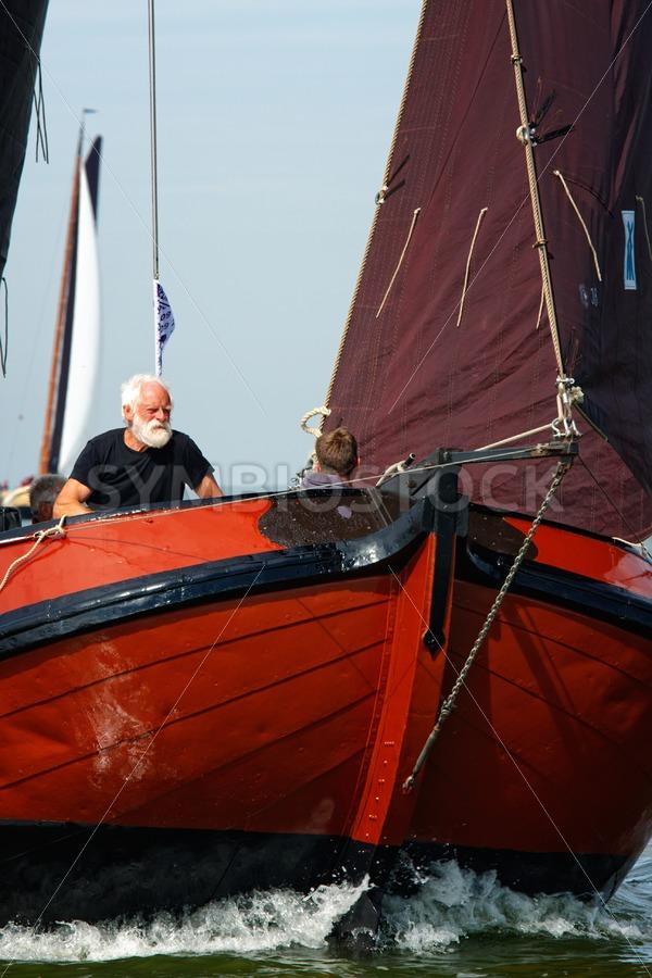 Man met baard. - Jan Brons Stock Images