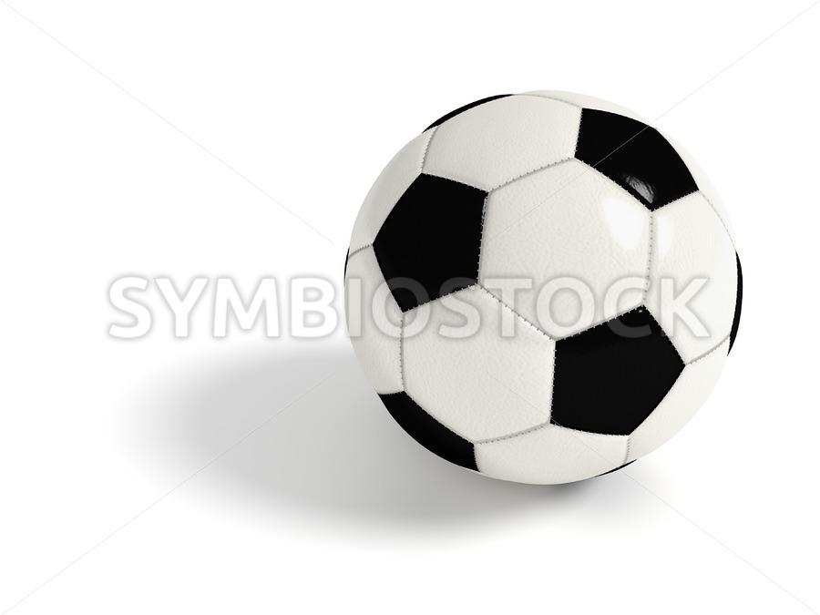 Soccer ball. - Jan Brons Stock Images