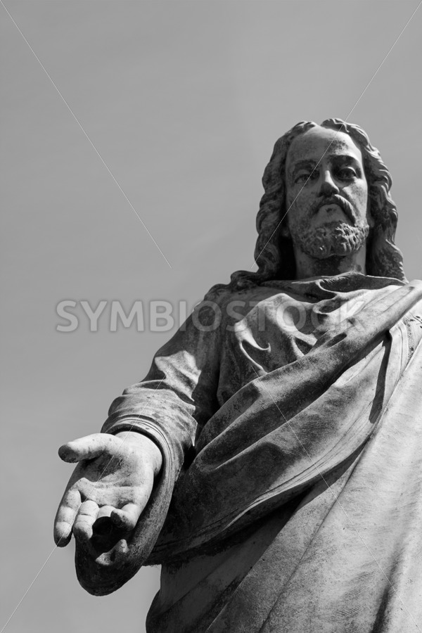 Statue Jezus - Jan Brons Stock Images