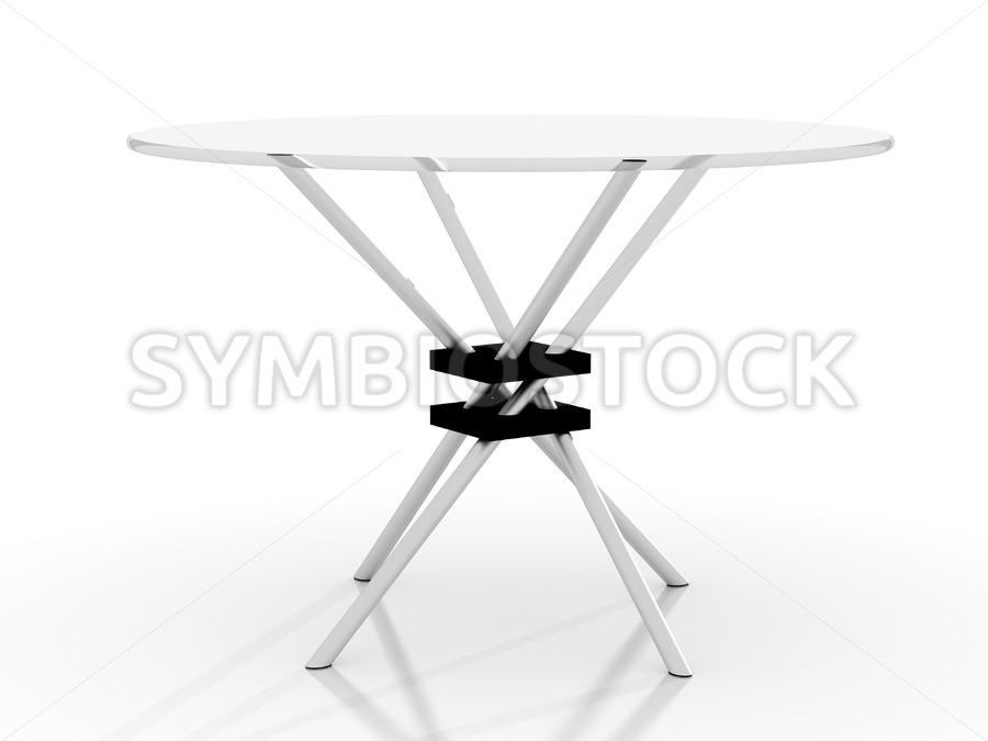 Takehiko Mizutani table. - Jan Brons Stock Images