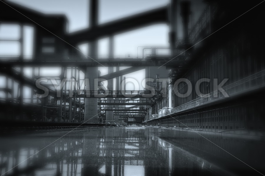 Tunnel vision - Jan Brons Stock Images