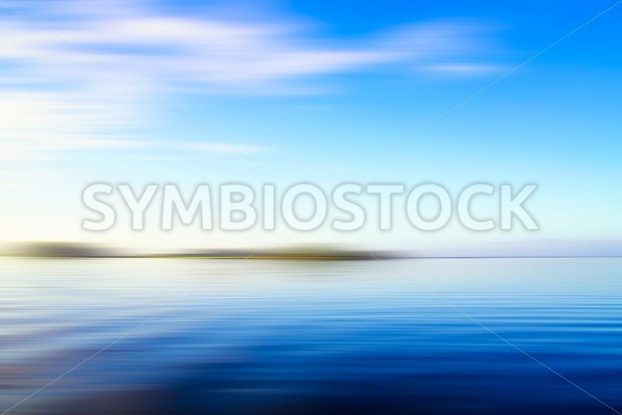 Blue seascape - Jan Brons Stock Images