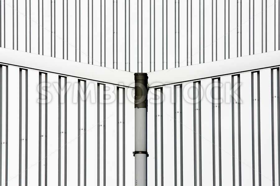 Central Rain Pipe - Jan Brons Stock Images