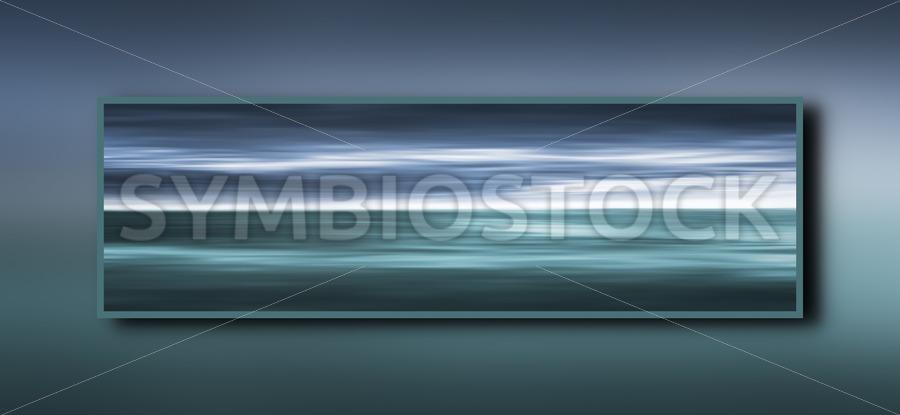 Framed Ocean - Jan Brons Stock Images