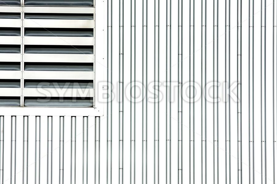 Open air grating - Jan Brons Stock Images