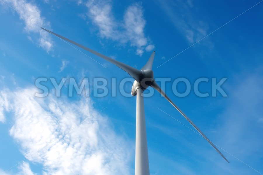 Three blades windmill - Jan Brons Stock Images