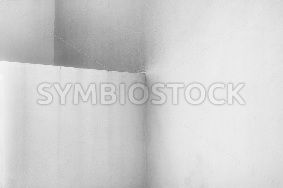 Three Concrete Walls - Jan Brons Stock Images
