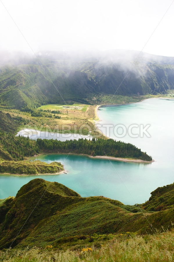 Lagoa do Fogo Azores - Jan Brons Stock Images